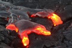 Elizabeth Burtt: Lava on Kilauea
