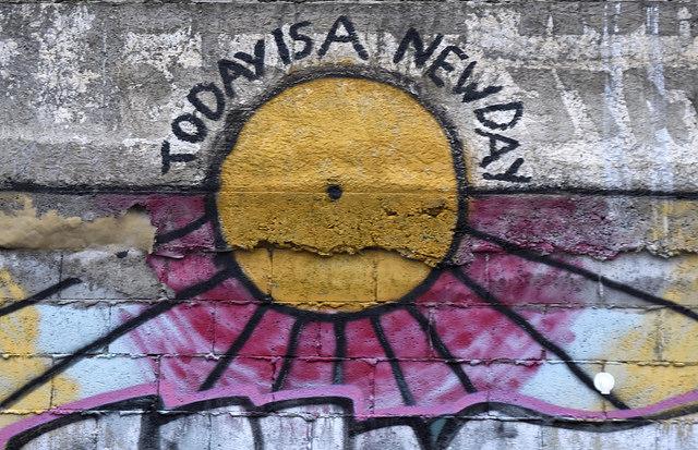 Sue Blair: The only sun today