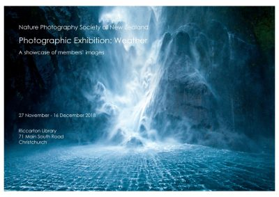 Photographic exhibition Weather