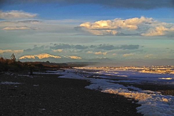 Maureen Pierre: Greymouth Beach